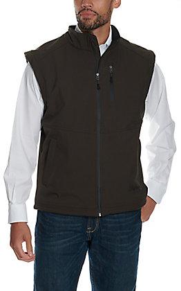 Rafter C Men's Brown Softshell Vest