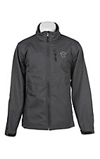 Rafter C Men's Grey Bonded w/ Raised Logo Jacket