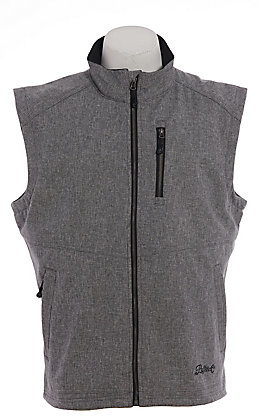 Rafter C Men's Grey Bonded Softshell Vest