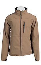 Rafter C Men's Tan Softshell Jacket