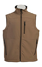 Rafter C Men's Tan Softshell Vest