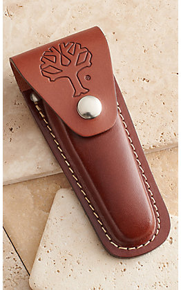 Boker Brown Leather Knife Sheath