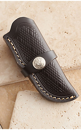 Boker Dark Brown Leather Knife Sheath