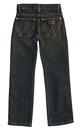 Wrangler Retro Rolling River Straight Leg Boys Jean Sizes: 8-16