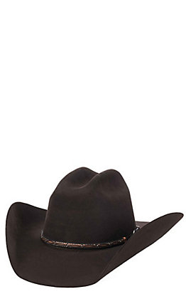 Cavender's Cowboy Collection 3X Brown Premium Wool Cowboy Hat