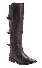 Bed|Stu Women's Teak Rustic Kitty Round Toe Fashion Riding Boot