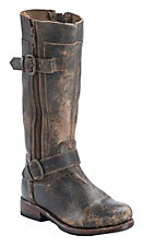 Bed|Stu Women's Teak Lux Gogo Round Toe Harness Fashion Riding Boot