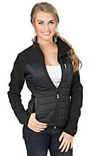 BEX Women's Velstyk Black Polly-Filled Hooded Jacket