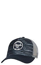 Cinch Navy Original Logo Denim Patch Cap