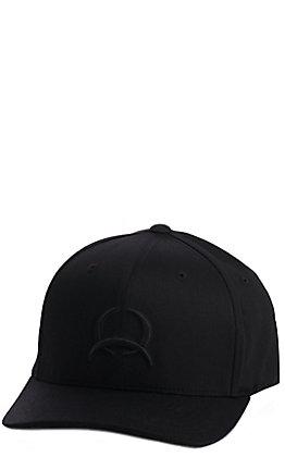 Cinch Black Tonal Logo Cap