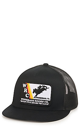 Rodeo Time Dale Brisby Black with WRC Patch Cap