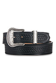 Men's Basket Weave Belts