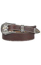 Justin Men's Tapered Broken Arrow Western Belt