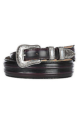 Justin Men's Cherry Creek Tapered Western Belt