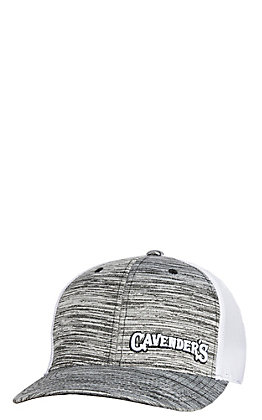 Cavender's Heather Grey Offset 3D Logo Cap