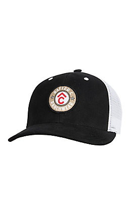 Rafter C Men's Black Circle Brand Patch