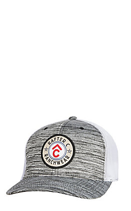 Rafter C Men's Heather Grey Circle Patch Cap