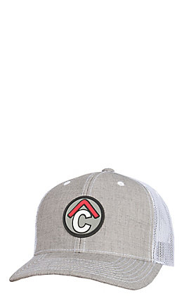 Rafter C Men's Grey Heather Circle C Rubber Patch Cap