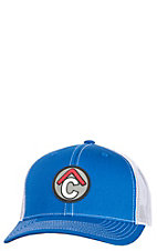Rafter C Men's Blue Circle C Rubber Patch Cap