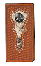 Ranger Belt Company Saddle with Steel Star Wallet
