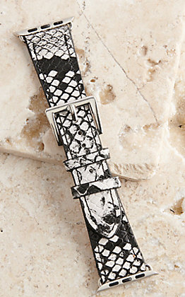 Blazin Roxx Snake Print 38/40MM Watch Band
