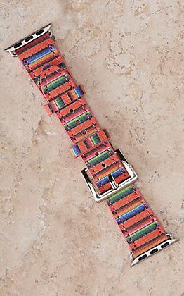 Blazin Roxx Serape Print 38/40MM Watch Band