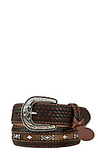 Tony Lama Mens Diamond River Western Belt C40885