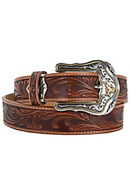 Men's Tooled Belts