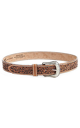 Tony Lama Men's Tan Veracruz Vine Belt