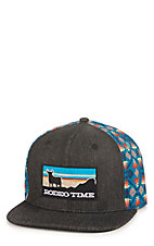 Rodeo Time Dale Brisby Heather Grey Rodeo Time Patch Snap Back Cap