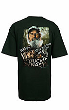 Duck Dynasty Men's Hunter Green 95% True Jack T-Shirt