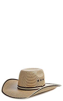 7a47d9d8437 Cavender s Kids 2 Tone Woven Punchy Cowboy Hat