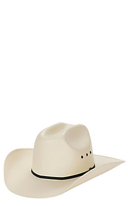 Cavender's Ranch Collection Ivory 5X Straw Cowboy Hat