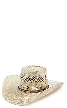 Cavender's Collection Twisted Weave Rowdy Hi Tech Straw Hat
