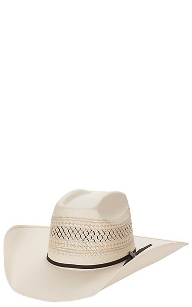 00d24400d3e Cavender s Cowboy Collection 10X Two Tone Vented Straw Cowboy Hat ...