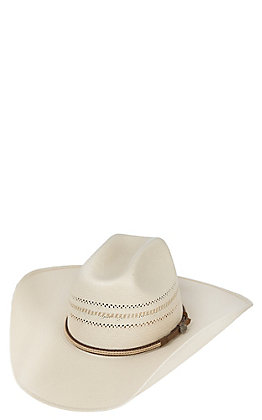 63b5736c61d62 Cavender s Cowboy Collection 10X Two Tone Vented Straw Cowboy Hat ...