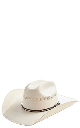 Cavender's Collection 10X Ivory Vintage Maverick Double Vent Hat