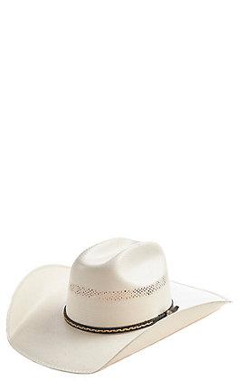 4682724cccc65 Cavender s Collection 10X Ivory Vintage Maverick Double Vent Hat