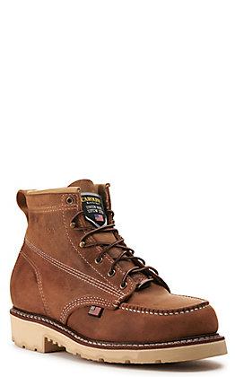 Carolina Men's Folklore Malt Moc Steel Toe Work Boot