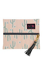 Makeup Junkie Melon Cactus Small Makeup Bag