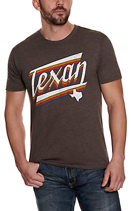 Men's Macchiato Texan Graphic Short Sleeve T-shirt