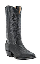 Cavender's Men's Black Shoulder Traditional Toe Western Boots