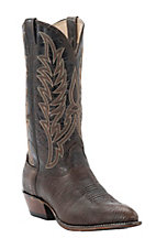 Cavender's Men's Chocolate Shoulder Traditional Toe Western Boots