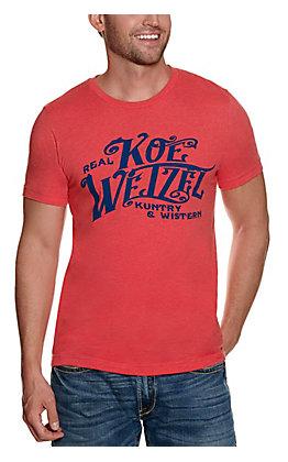 Men's Red Koe Wetzel Graphic Short Sleeve T-Shirt - Cavender's Exclusive