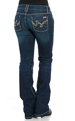 Cruel Girl Women's Abby Slim Boot Jeans