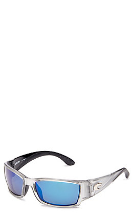 Costa Corbina Blue Mirror Silver Sunglasses