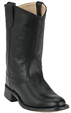 Cavenders Youths Roper Boots - Black