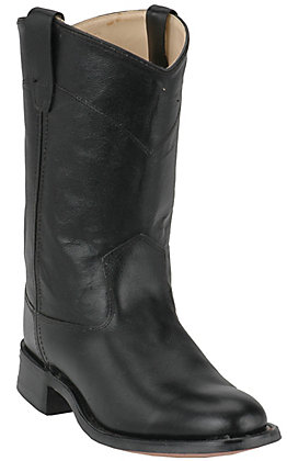 Cavender's Youth Black Roper Boots