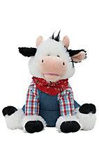 Cuddle Barn Farmer Mac Singing Cow