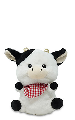 Cuddle Barn Sweet Cheeks Singing Cow Stuffed Animal